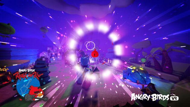 Rovio新作《Angry Birds VR》登陆Gear VR平台