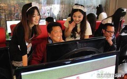 实在是不雅!中国游戏陪玩女引外媒非议
