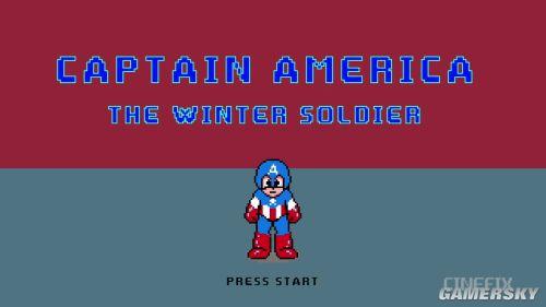 8-bit版《美国队长2》 好莱坞大片变身街机风
