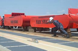 美军福特号航母电磁弹射器测试画面