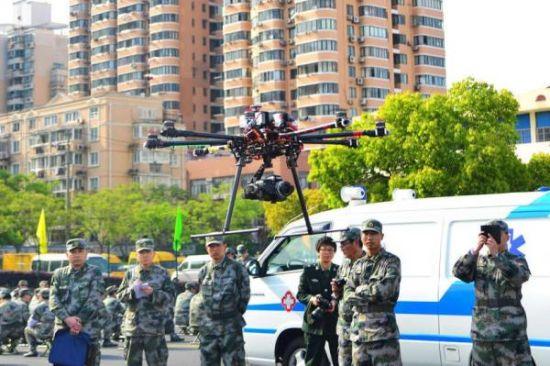 上海成立民兵无人机侦察队 一台装备10多万