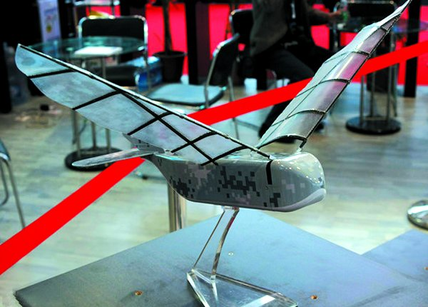 印度研制3种无人机 机翼可像鸟儿一样上下拍动