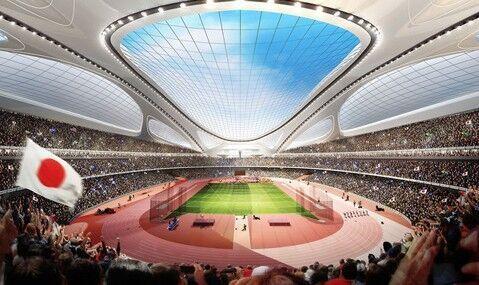 東京奧運會主場館設計圖