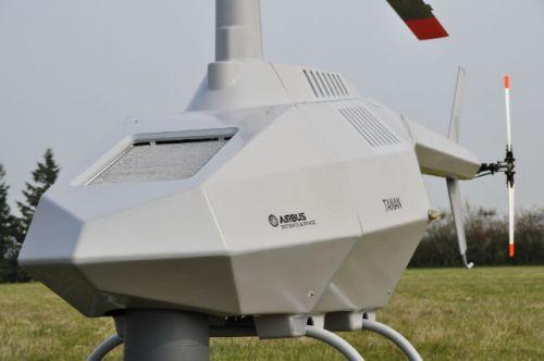空客研TANAN垂直起降无人直升机 可挂载导弹