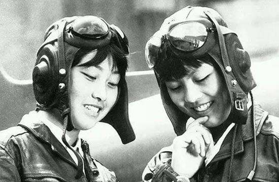 六七十年代中国女兵自然之美