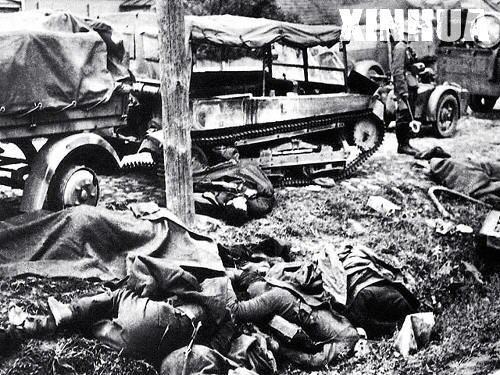 老照片:二次大战德国闪击波兰(组图)