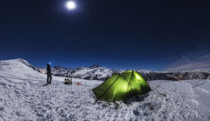 广袤天地间的小小身影 大气磅礴的风光摄影