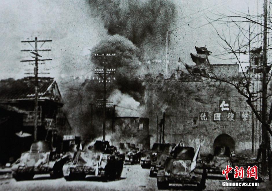 南京大屠杀历史资料图(高清组图)