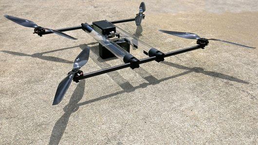 一次可飞行4小时!首款氢燃燃料电动四翼无人机