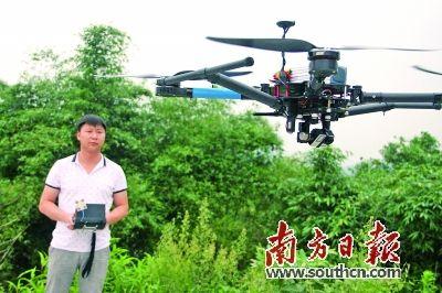 青年研全碳纤维无人机引起欧美东南亚市场兴趣
