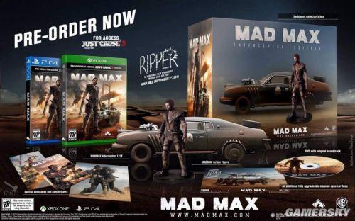 《疯狂麦克斯》价值大增 竟含正当防卫3试玩版
