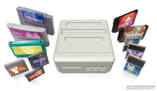 超强主机兼容11种游戏卡带 研发顺利猛图放出