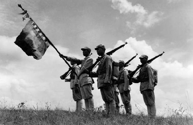 美军拍摄的中国抗战照片