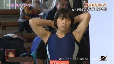 """日本""""史上最可爱女相扑手""""爆红 长相甜美可爱"""