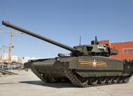 俄军新型T-14坦克全方位亮相