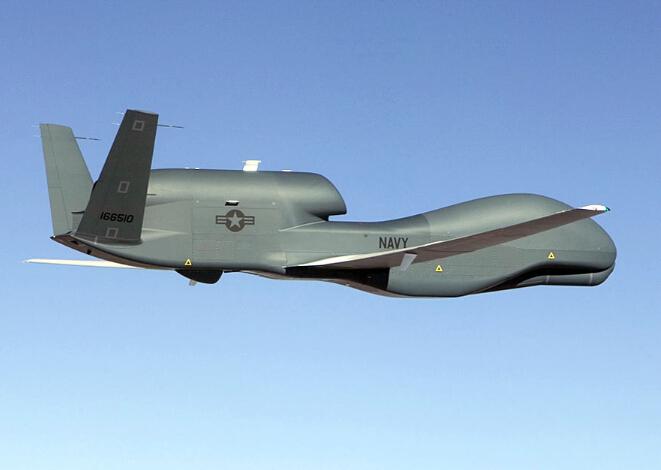 美媒:全球鹰无人机抵近南海曾遭中国电子干扰