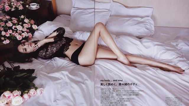 谁说日本无美腿?菜菜绪秀大长腿极致诱惑