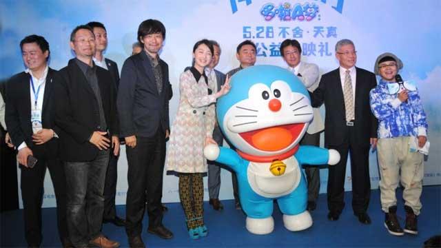 《哆啦a梦:伴我同行》盛大首映:人人都爱蓝胖子