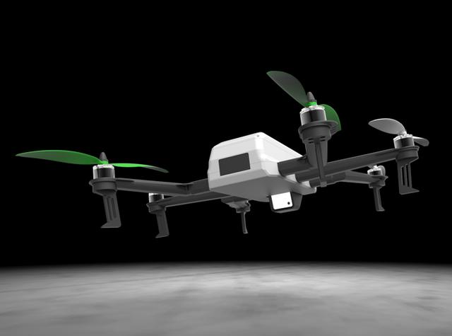 感受不一样的美丽 可拆卸式摄像无人机