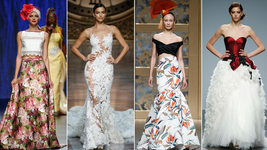 除了C罗前女友 巴塞罗那婚纱周还有更多看点!