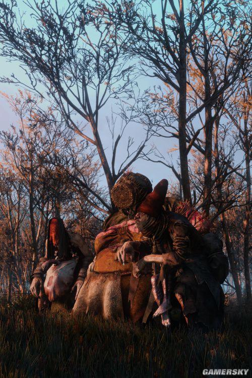 《巫师3》高分辨率艺术图赏 别人的巫师好漂亮