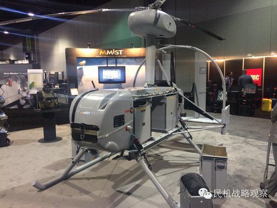 2015美国无人机展上的奇葩 飞碟无人机吸眼球