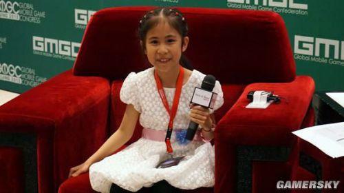 不爱洋娃娃爱编程的10岁女孩 小小中国游戏人