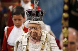 英国女王在议会发表讲话宣布施政蓝图