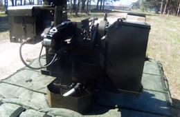 俄罗斯战斗机器人实战化训练画面