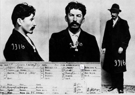 列宁斯大林墨索里尼 揭秘历史名人的监狱照