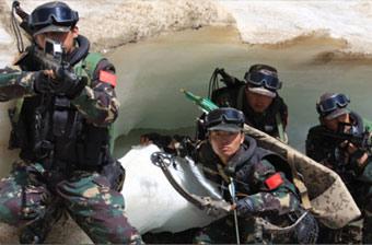 中国人民解放军第二炮兵特种部队-中国军事图