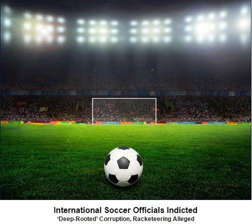 FBI正式介入调查 FIFA遭47项指控贪污1.51亿美元