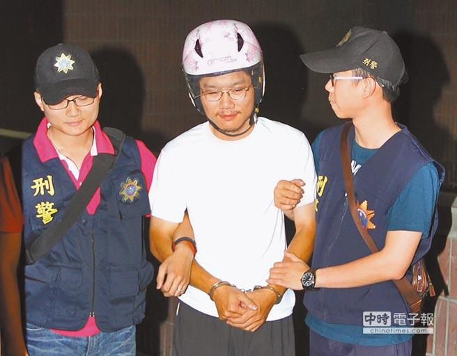 男子割喉8岁女童 被捕后露诡异笑容