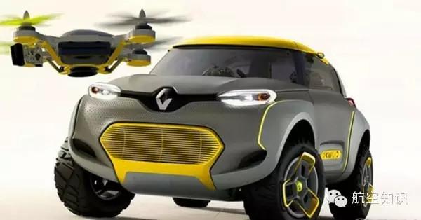 特斯拉也得靠边站 自带无人机的汽车来了
