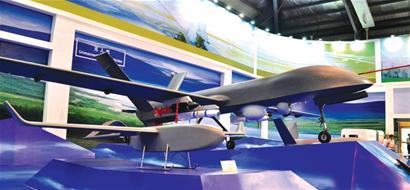 国产军用长航时彩虹-4无人机首次监测海洋环境