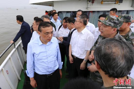 李克强谈客船翻沉事件:要把原因实事求是调查清楚