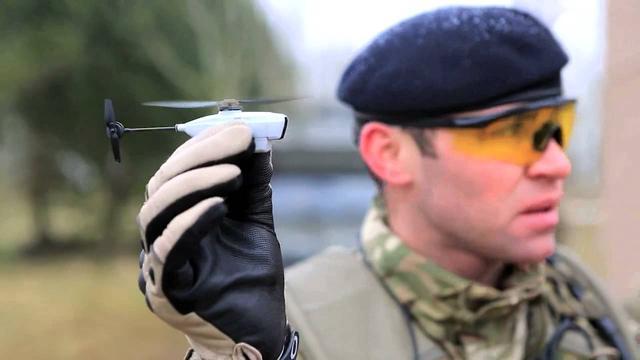 美军新式微型无人机重仅18克 成群出动干扰敌人