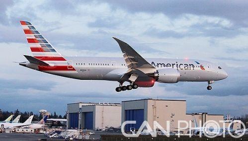 为争夺中国乘客 美国航空搬出了梦想787客机