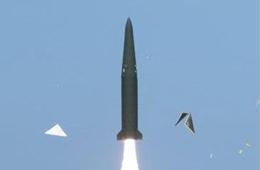 """韩国试射""""覆盖朝鲜全境""""新型导弹"""