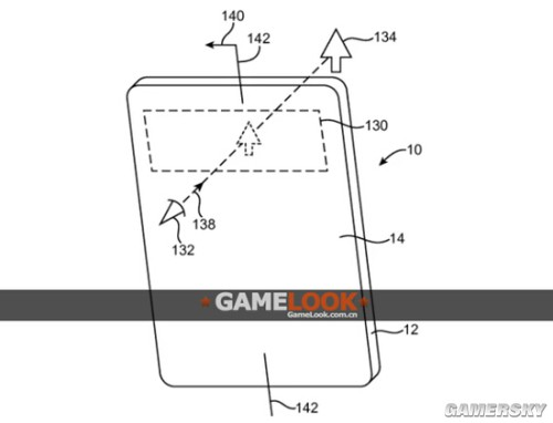 苹果公司新专利软性荧屏曝光 或可透视AR游戏