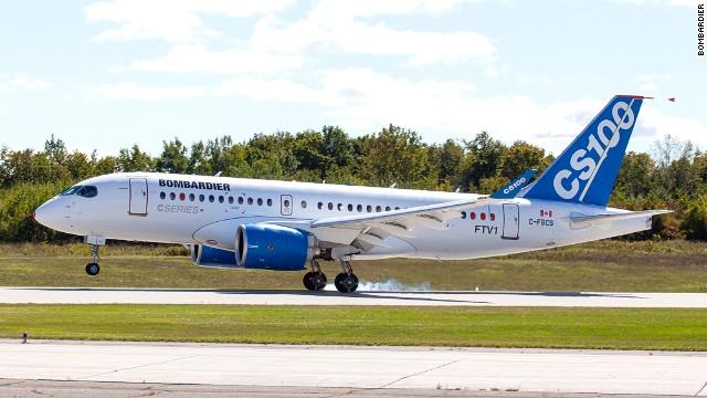 庞巴迪再换高管推进C系列飞机 将在巴黎航展推荐