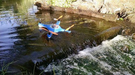 Aguadrone:帮你找到鱼群并投饵的无人机