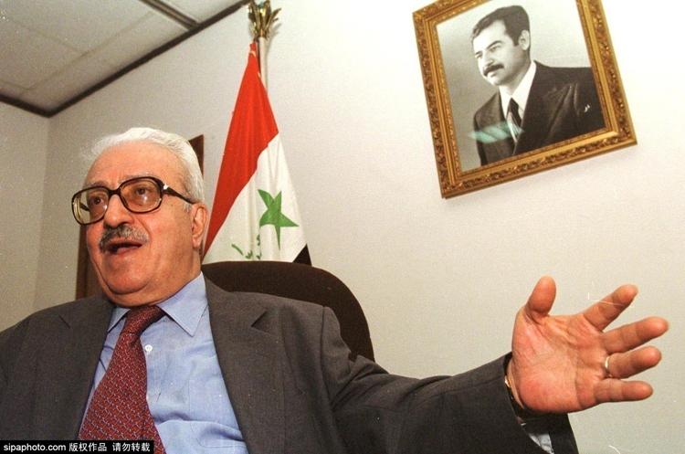 伊拉克前副总理阿齐兹监狱中去世 曾担任萨达姆外交部长