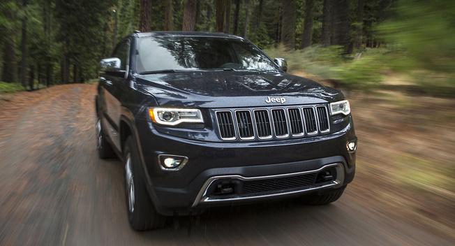 美调查jeep大切诺基自动刹车系统故障高清图片