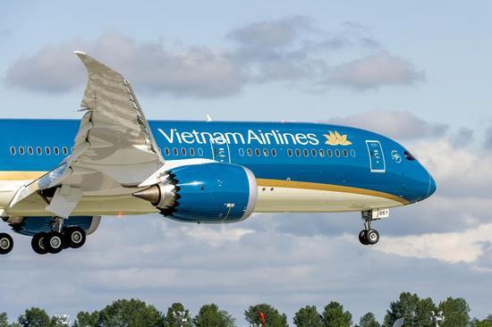 越南航空波音787-9将参加巴黎航展飞行表演
