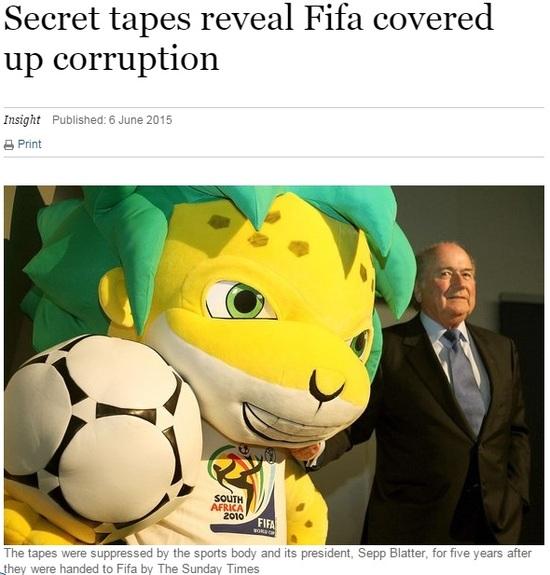 曝2010世界杯内幕!摩洛哥2票胜出遭官员受贿反戈