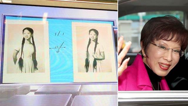洪秀柱成长照片大公开 被叹:女大十八变