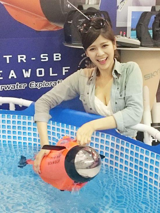 海底世界一览无余!水中无人机Seawolf海狼登场