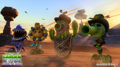《植物大战僵尸》新作先行预告 E3正式公布