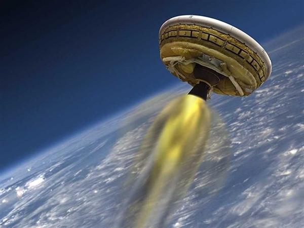 """NASA测试""""飞碟""""未获完全成功 准备登陆火星"""